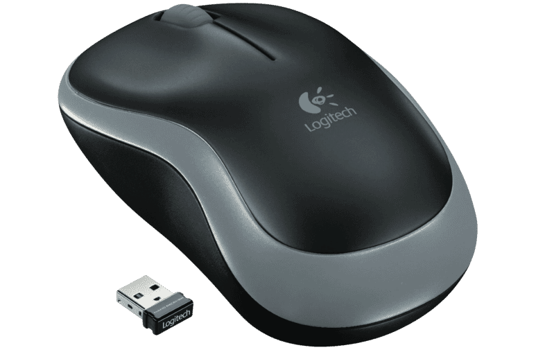 Logitech 1685685 Wireless Mouse Grey M185 at The Good Guys