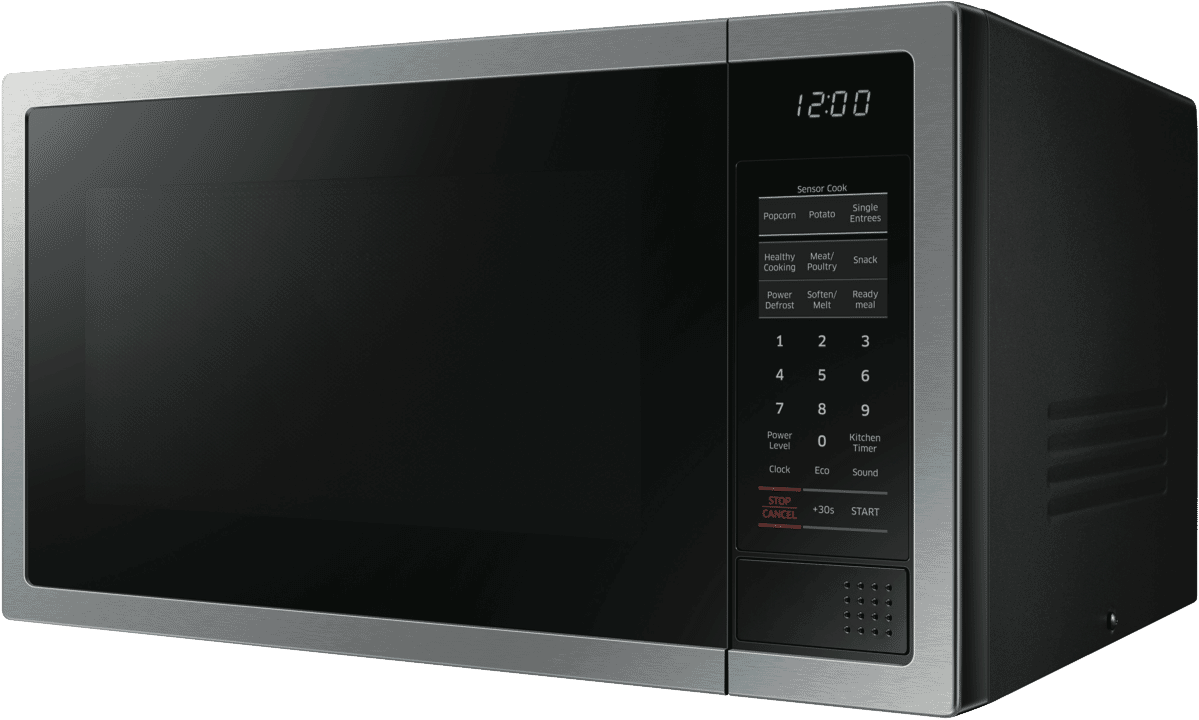 New Samsung Me6124st 1 34l 1000w Stainless Steel Microwave