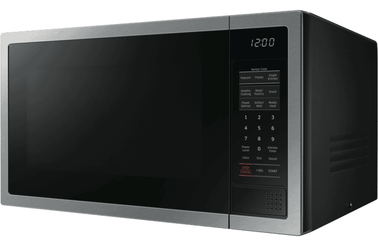 Samsung Me6124st 1 34l 1000w Stainless Steel Microwave At The Good Guys
