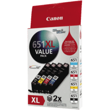 CanonCLI651 XL Value Pack50028009