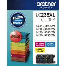 BrotherLC235 XL Colour Value Pack50028030