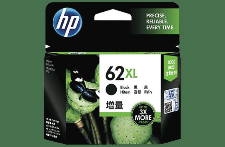 HP C2P05AA 62 XL Black Ink Cartridge at The Good Guys