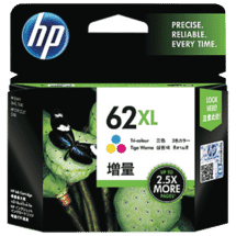 HP62 XL Tri-colour Ink Cartridges50028901