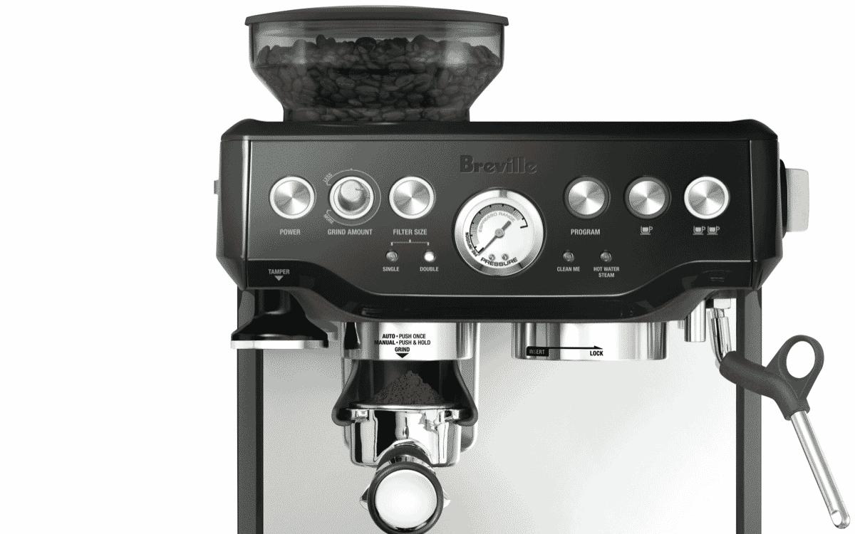 Breville BES870BKS the Barista Express Coffee Machine ...