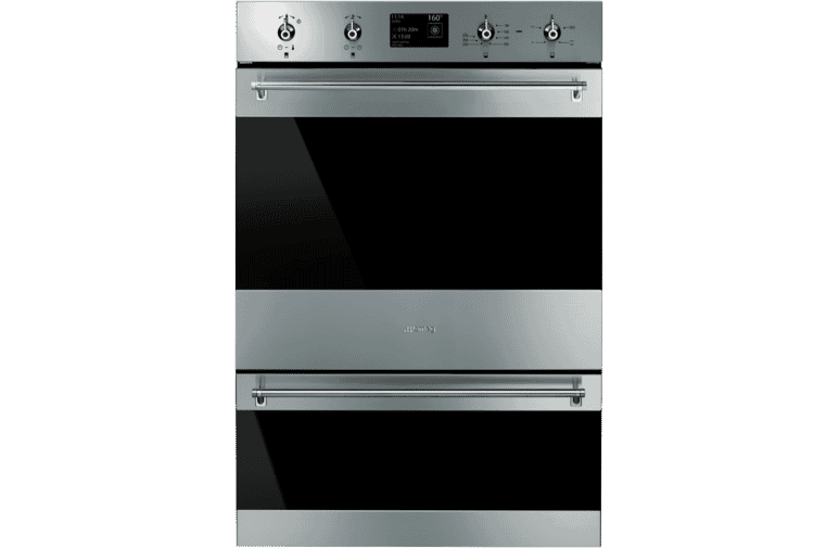 Smeg Dospa6395x 60cm Pyrolytic Double Oven At The Good Guys