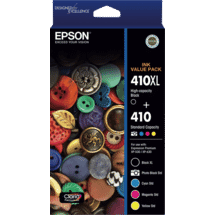 Epson410XL 5 x colour ink Value Pack50034275