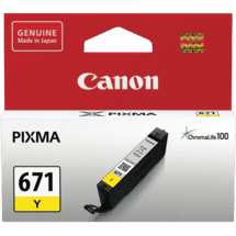 CanonCLI671Y Yellow Ink Cartridge50036805