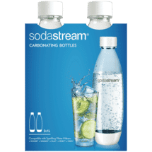 Sodastream1 Litre Twin Pack Fuse White PET50038160