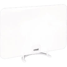 CrestIndoor Digital TV Antenna Concealable White50038204