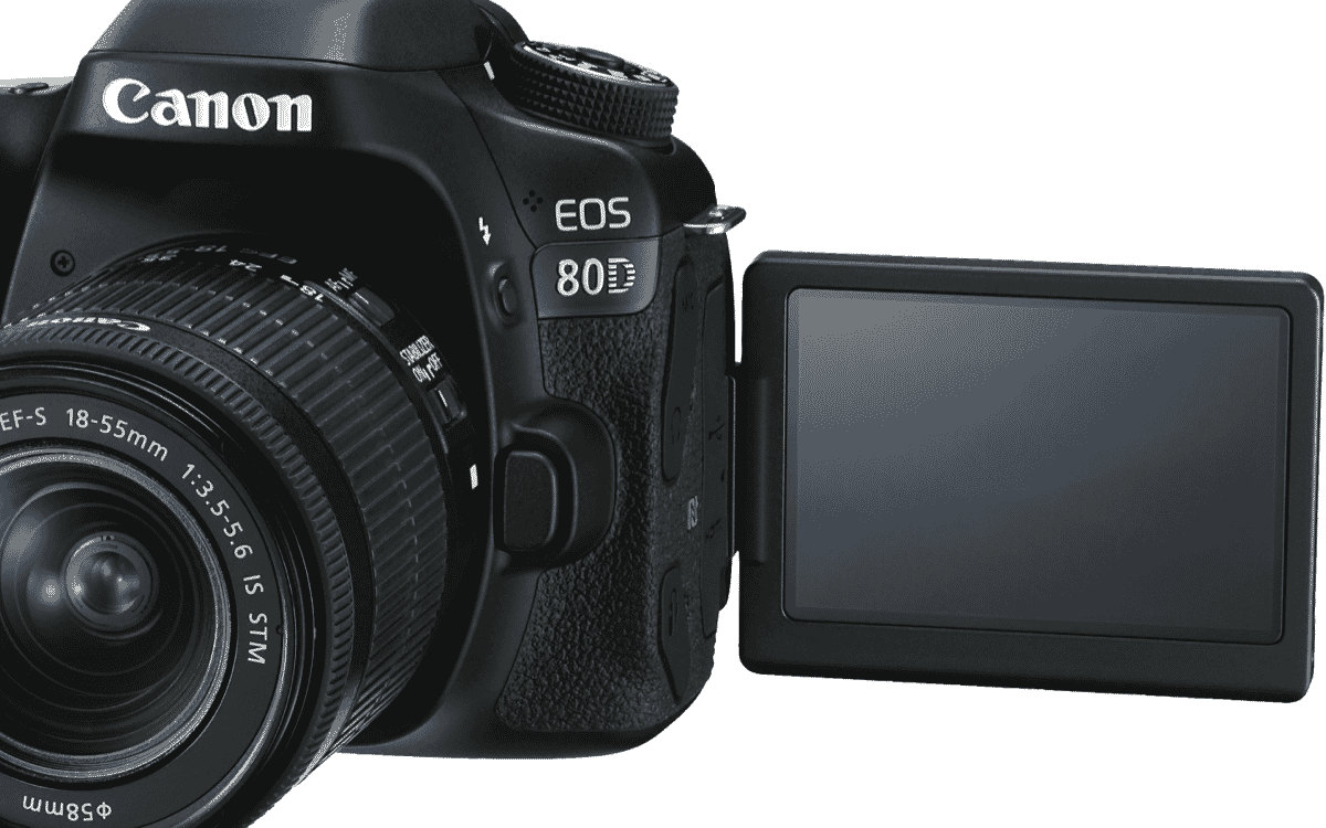 Canon 80DKIS 80D Single Lens Kit at The Good Guys
