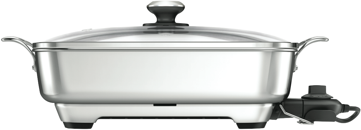 Breville Bef560bss The Thermal Pro Stainless Frypan At The