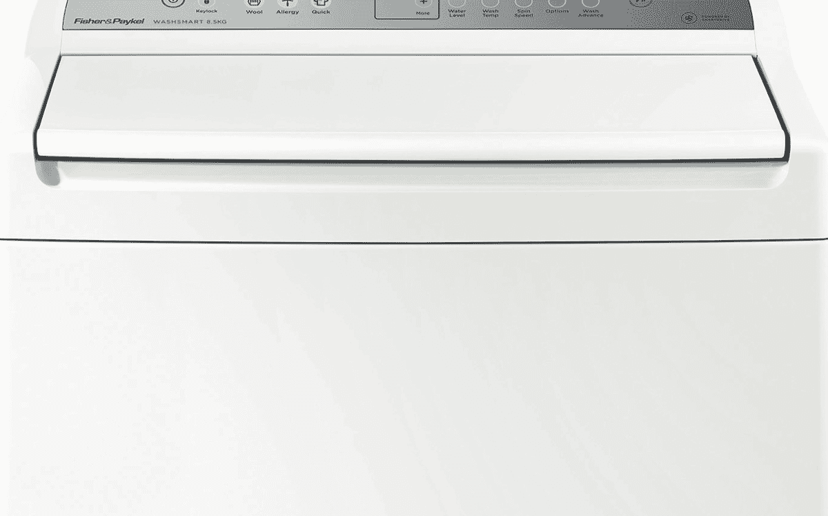 Fisher Paykel Wa8560g1 85kg Top Load Washer At The Good Guys Washing Machine Wiring Diagram This Can Finish A Full Of In Just 59 69 Minutes Which Is Almost Twice As Fast Other Loader