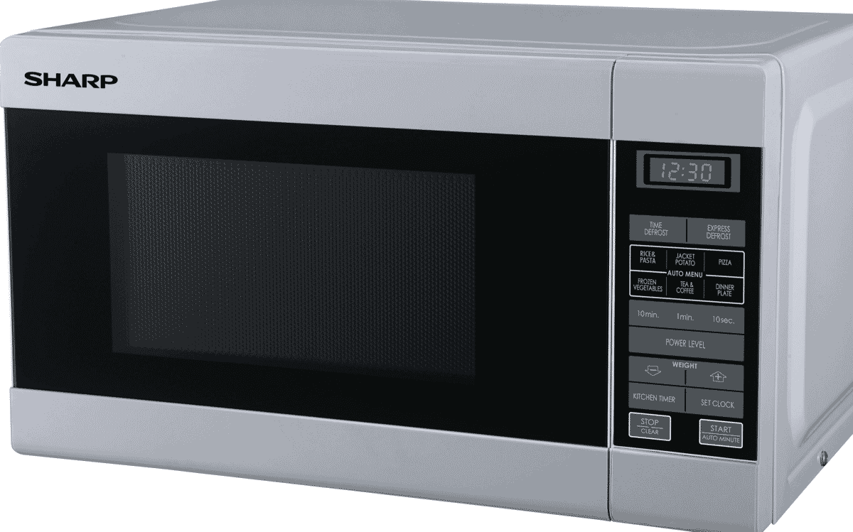 Sharp R 210d W 750w Microwave White