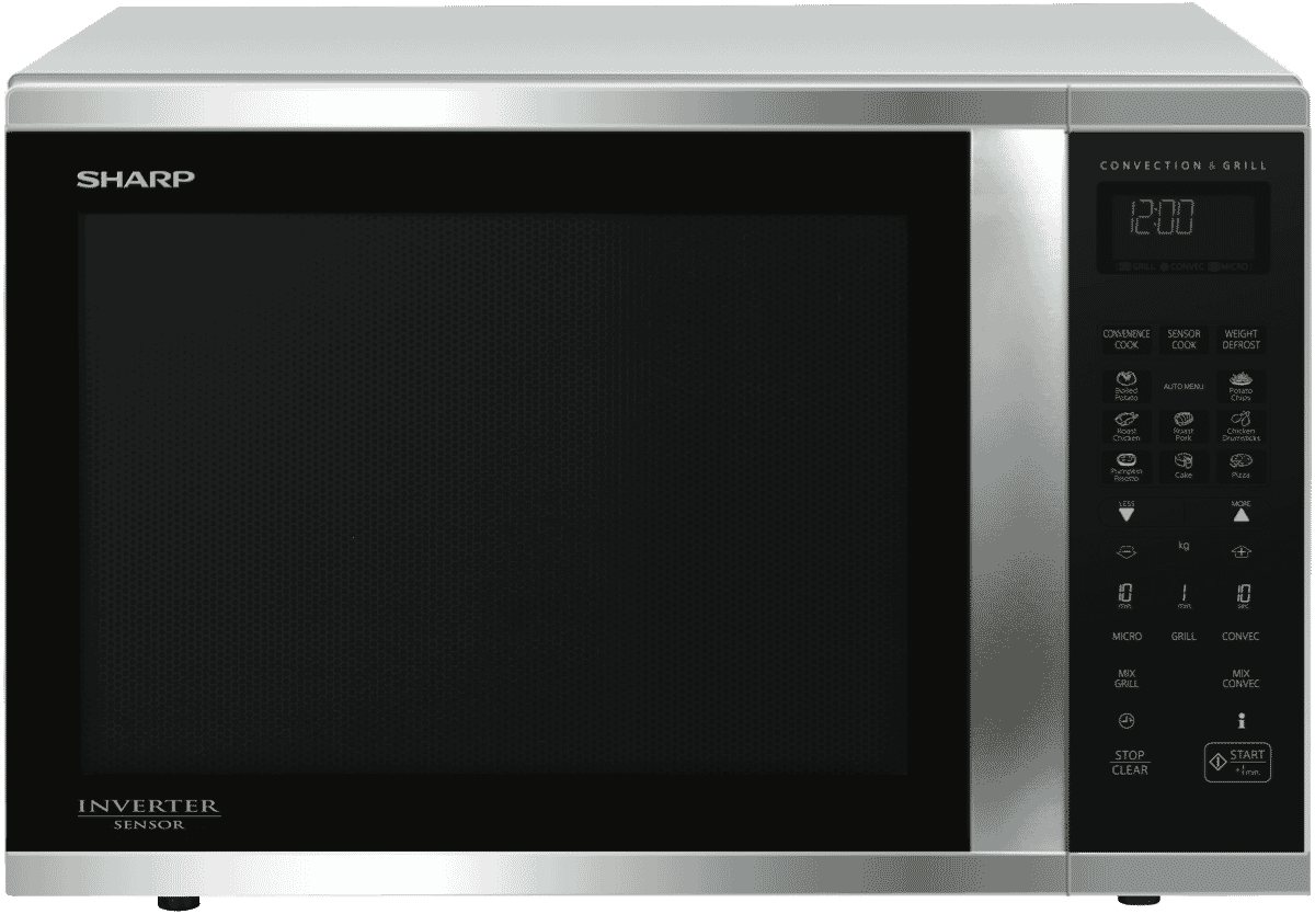 New Sharp R995dst 1000w Stainless Steel Convection