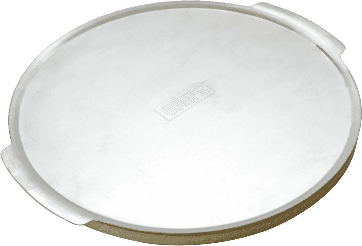 Weber EASY SERVE PIZZA TRAY Instructions /& Recipe Incl SMALL 26 or LARGE 36.5cm