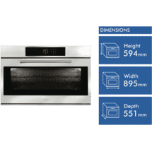 ILVE 90cm Electric Oven