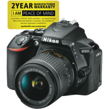 NikonD5600 Single Lens Kit (18-55mm)50046109