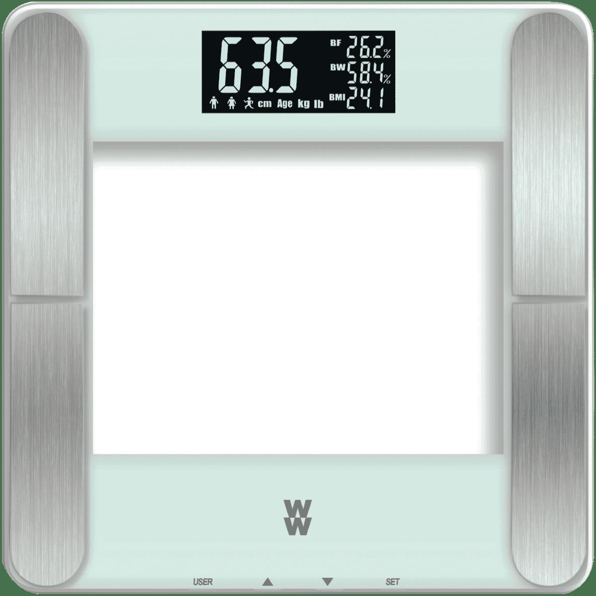 New Weight Watchers Ww710a Body Analysis Smart Scale