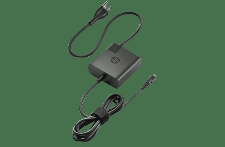 HP X7W50AA 65W USB-C AC Adapter at The Good Guys