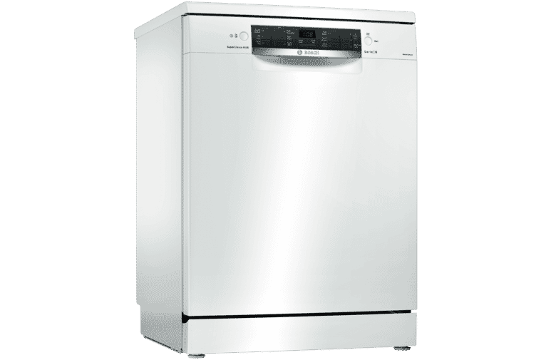 Bosch SMS66MW01A White Freestanding Dishwasher at The Good Guys