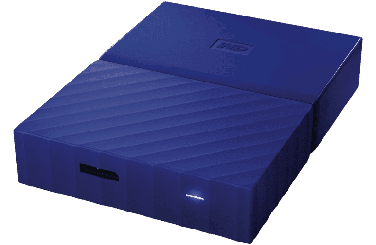 Western Digital WDBYFT0020BBL-WE 2TB My Passport Portable HDD Blue at The  Good Guys