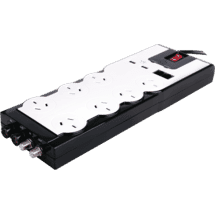 LINDENPremium 7 Outlet Surge & Overload Powerboard with 2 x USB50049062