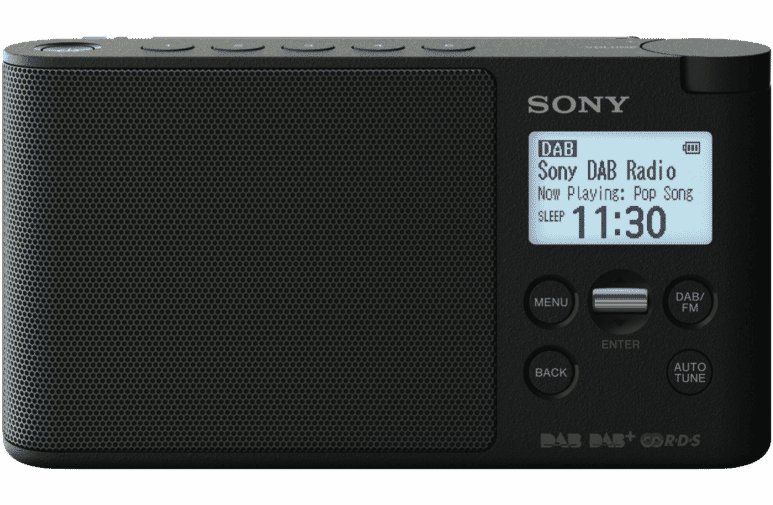 Sony xdrs41db portable radio dab at the good guys sciox Image collections