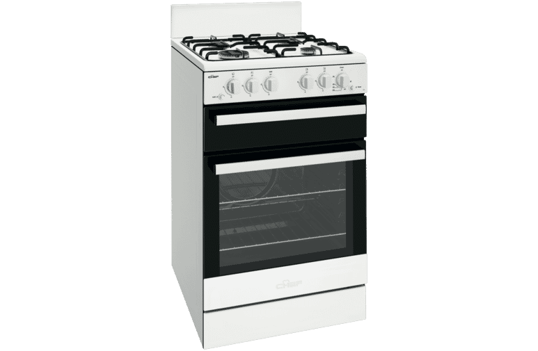 Cfg503wbng 54cm Ng Gas Upright Cooker