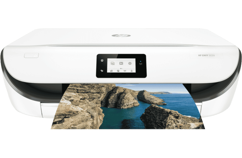 HP Z4A70A Envy Wireless Inkjet Printer 5030 at The Good Guys