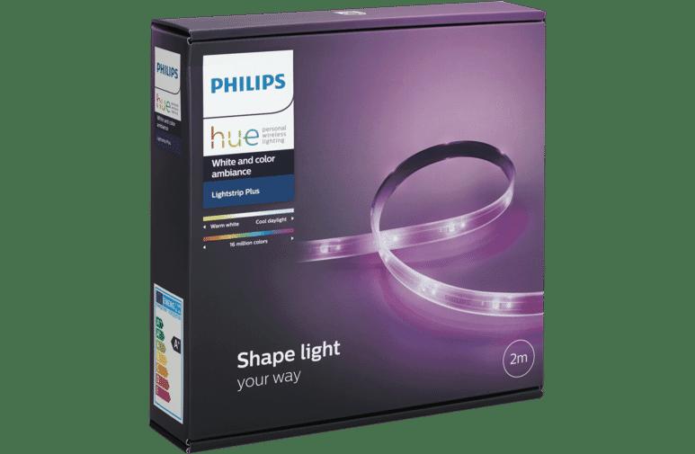 new concept 32a23 e0fe1 Philips HUESTRIPMK2 Hue LED Light Strip 2m at The Good Guys