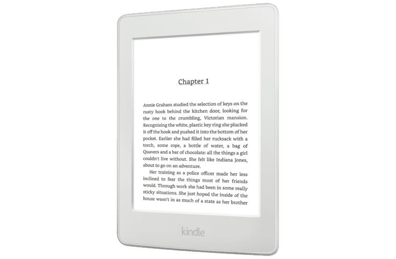 Kindle B017DOUYX8 Paperwhite White eReader at The Good Guys