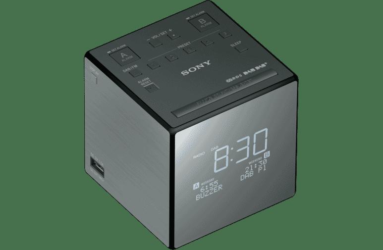 63a30507ee7 Sony Xdrc1dbp Dab Clock Radio At The Good Guys