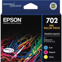 Epson702 3 Colour DURABrite Ink Pack50051428