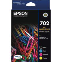 Epson702 4 Colour DURABrite Ink Pack50051430