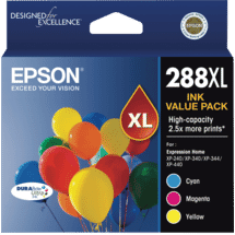 Epson288XL 3 Colour DURABRITE  Ink Pack50051528