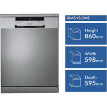Technika 60cm Freestanding Dishwasher