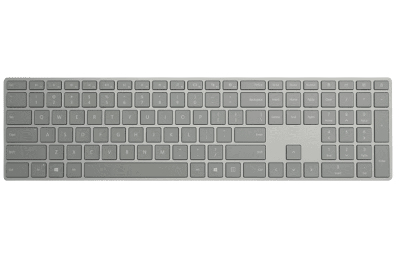Microsoft WS2-00014 Surface Wireless Keyboard - Silver at The Good Guys