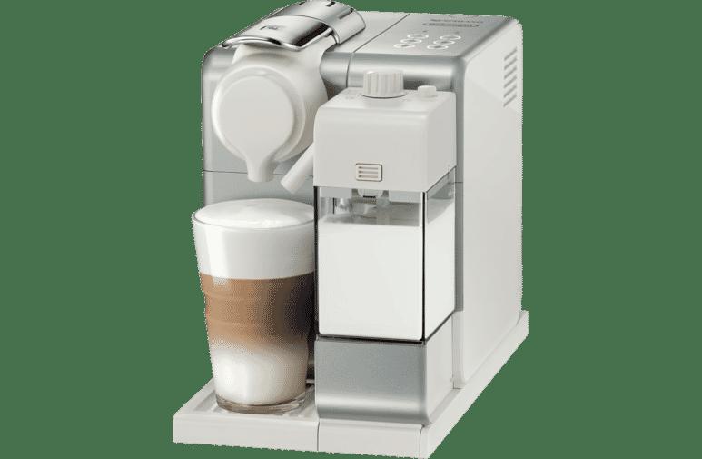 Nespresso En560s Delonghi Lattissima Touch Restyle Silver At The