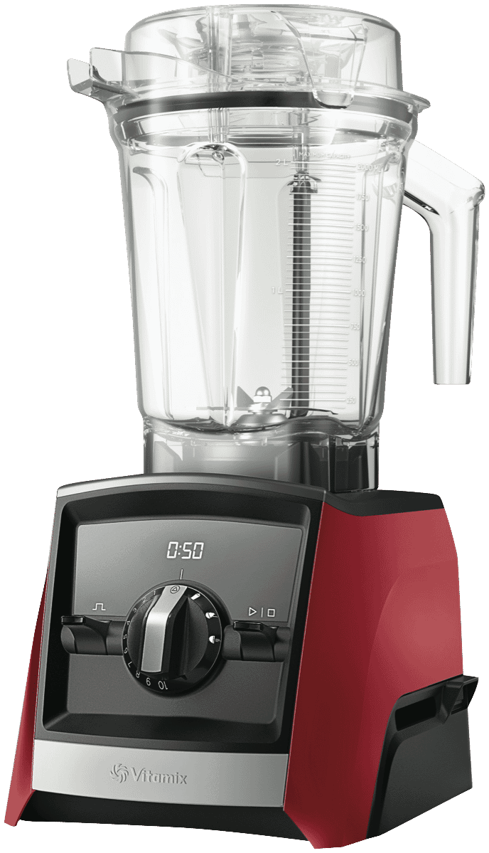 Ascent Series A2500i High-Performance Blender - Red