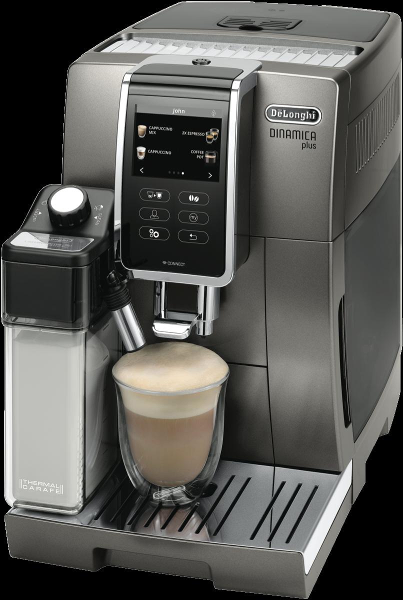 DeLonghi ECAM37095T Dinamica Plus Fully Automatic Coffee ...