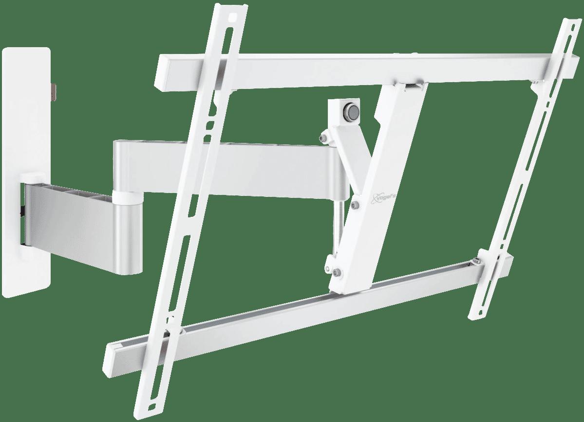 Full Motion TV Wall Bracket Lge (40-65) White