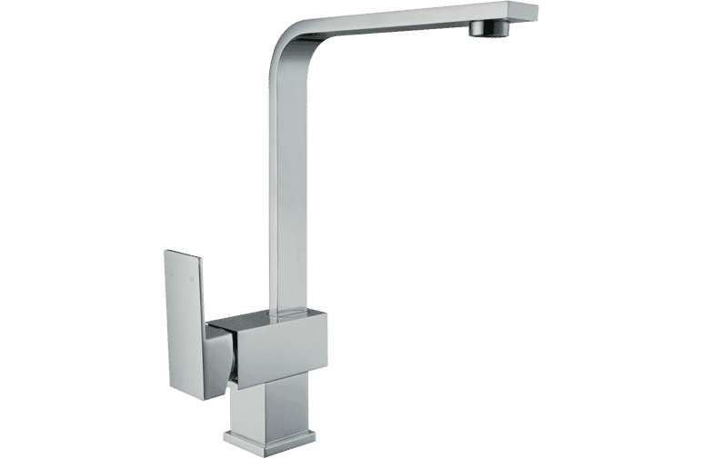 Hafele 569 41 250 Polished Chrome Flat Mixer Tap at The Good Guys