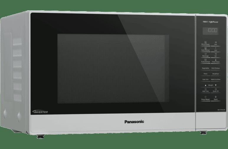Panasonic 32l White Inverter Microwave Nn St64jwqpq