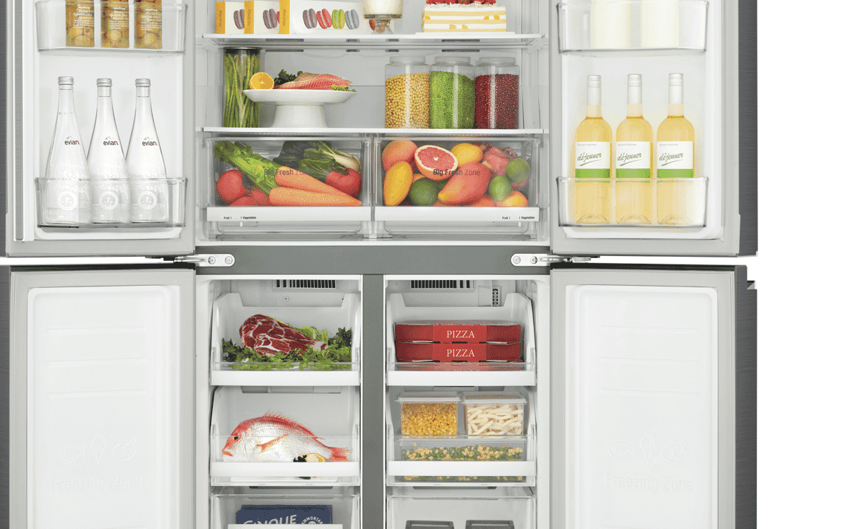 Lg Gf B590pl 594l French Door Refrigerator At The Good Guys Refrigerators Fuse Box On Your Compatible Smartphone Smart Thinq App Adjusts Fridge And Freezer Settings In Real Time So Store Bought Ice Cream Is Quickly Brought Back To
