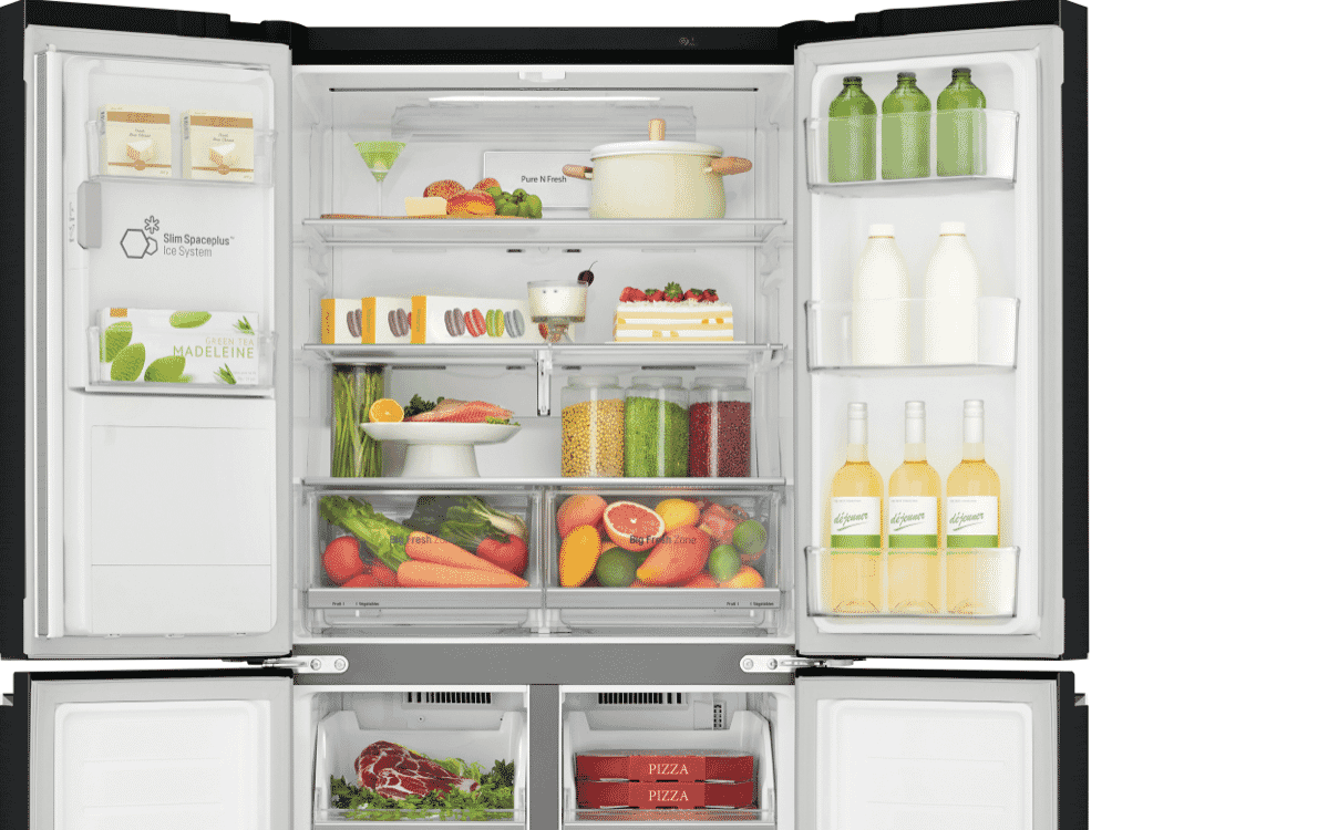 Lg Gf L570mbl 570l French Door Refrigerator At The Good Guys