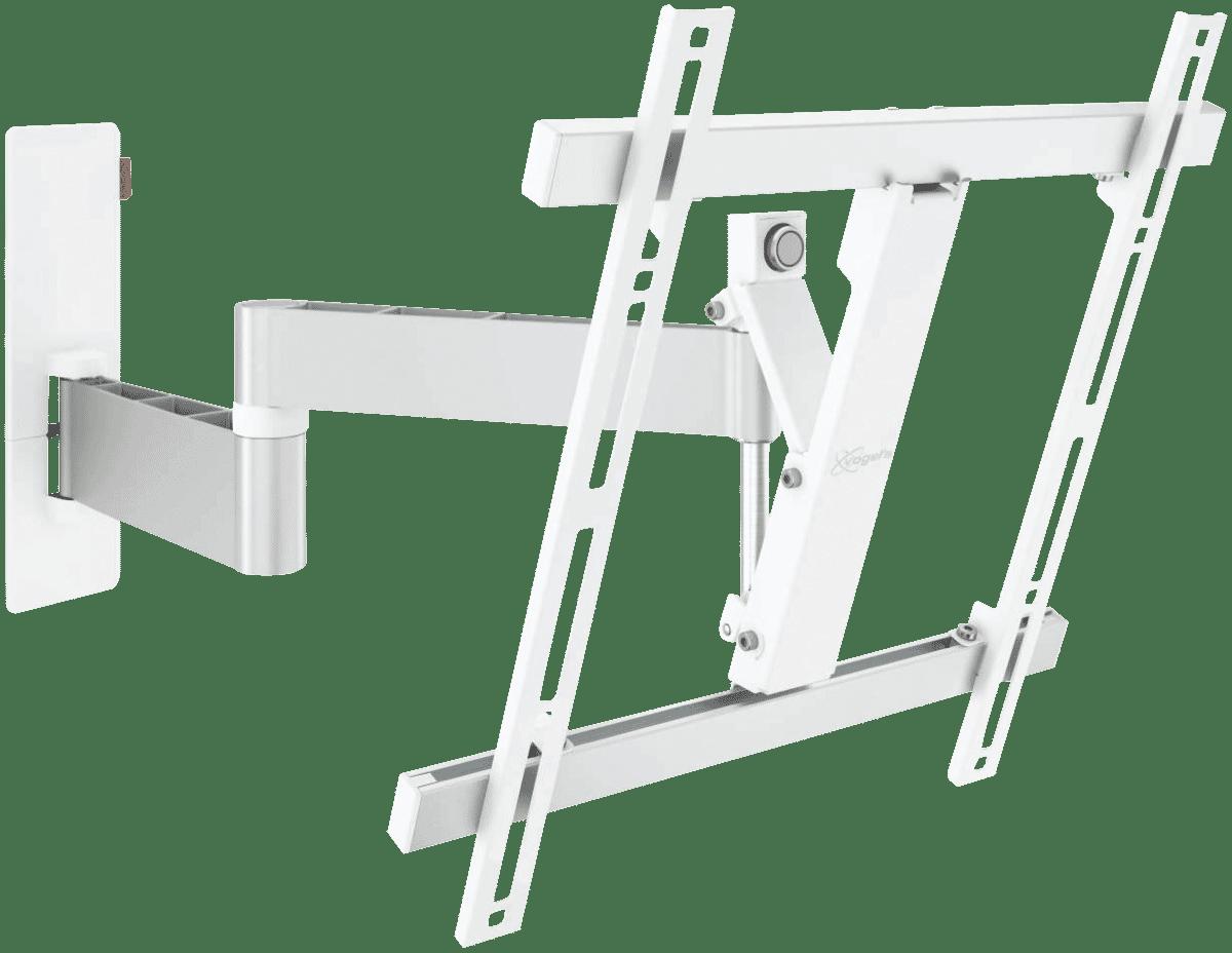 Full Motion TV Wall Bracket Med (32-55) White