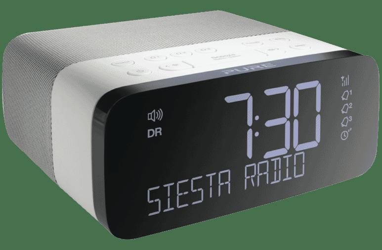 Pure 151104 Siesta Rise DAB Clock Radio at The Good Guys