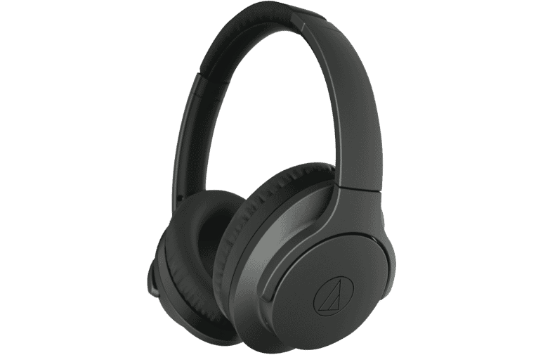 Audio Technica ATH-ANC700BTBK Premium Noise Cancelling Wireless Headphones  - Blk at The Good Guys