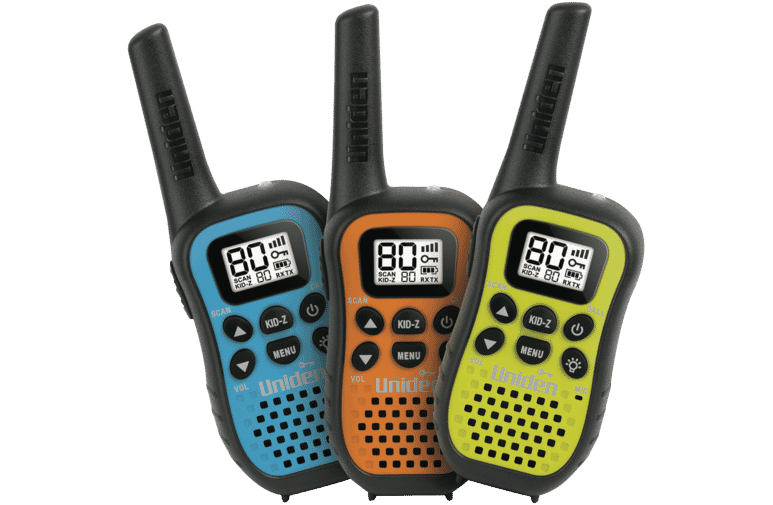 Uniden UH45-3 Compact UHF Handheld Radios - 3 pack at The Good Guys