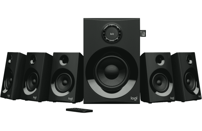 25be3774ab7 Logitech 4321606 Z607 5.1 Surround Sound with Bluetooth at The ...